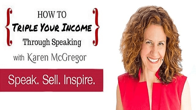 How To Triple Your Income Through Speaking
